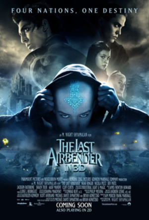 The Last Airbender - Theatrical release poster