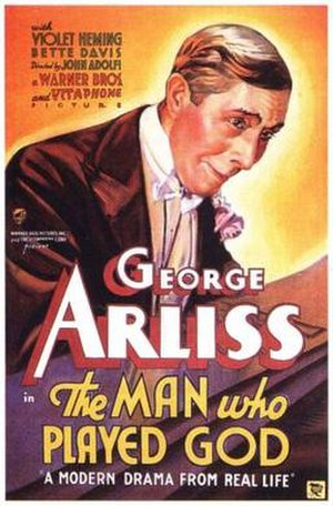 The Man Who Played God (1932 film) - Theatrical release poster