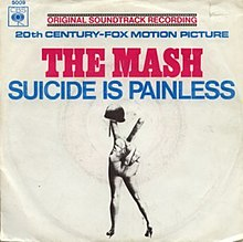 theme from mash suicide is painless