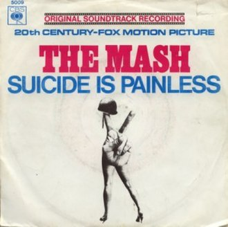 Suicide Is Painless - Image: The Mash Suicide Is Painless single cover