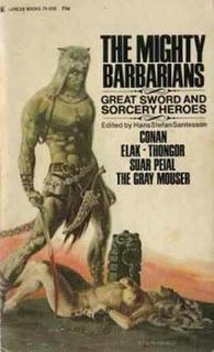 <i>The Mighty Barbarians</i> book by Hans Stefan Santesson