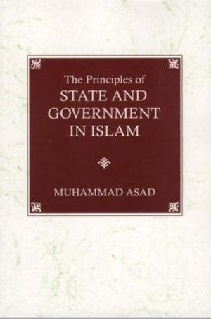 The Principles of State and Government in Islam - Image: The Principles of State and Government in Islam