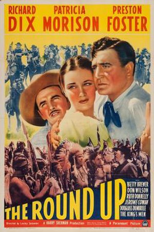 The Round Up (1941 film) - Theatrical release poster