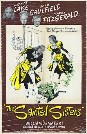 The Sainted Sisters - 1948 Theatrical Poster