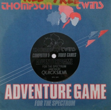 Sleeve and label of The Thompson Twins Adventure.