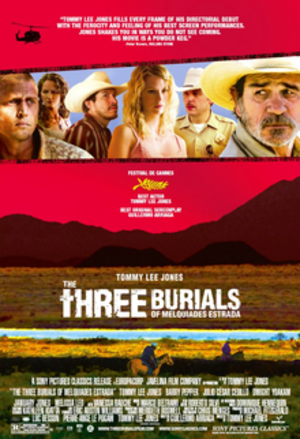 The Three Burials of Melquiades Estrada - Theatrical release poster