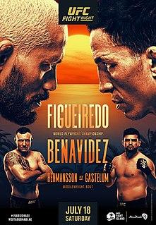UFC Fight Night: Figueiredo vs. Benavidez 2 UFC mixed martial arts event in 2020