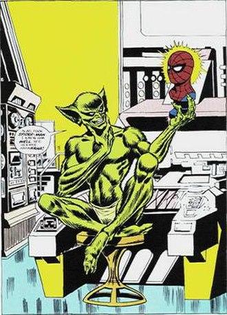 The Amazing Spider-Man 129 - Image: Thejackalamazingspid erman 146
