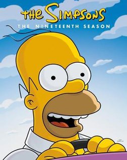 <i>The Simpsons</i> (season 19) Season of television series