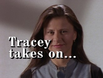 Tracey Takes On... - Intertitle from seasons 2-4