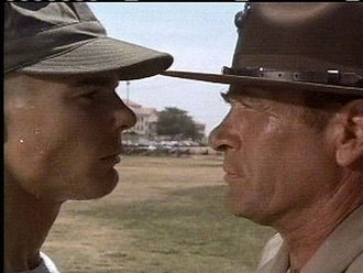Tribes (film) - Jan-Michael Vincent and Darren McGavin
