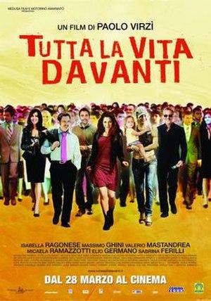 Your Whole Life Ahead of You - Tutta la vita davanti theatrical poster
