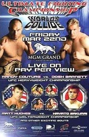 UFC 36 - Image: UFC 36 poster art
