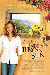 <i>Under the Tuscan Sun</i> (film) 2003 American romantic comedy film directed by Audrey Wells