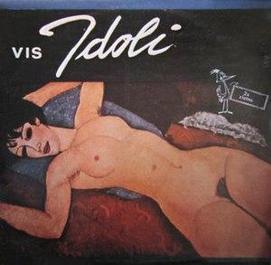 VIS Idoli (EP) - Image: Visidoli EP