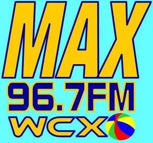 WCXO - Image: WCXO MAX96.7FM logo