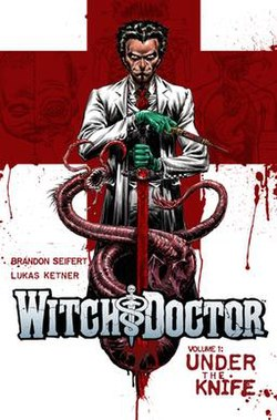 portada del cómic Witch doctor
