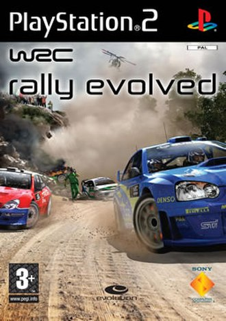 WRC: Rally Evolved - Cover art