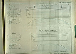 Peake for an improved fishing boat design, from the Washington Report