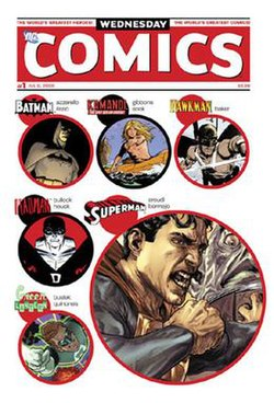 Cover for Wednesday Comics #1