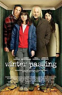 <i>Winter Passing</i> 2005 American film directed by Adam Rapp