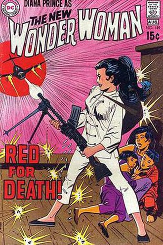 Publication history of Wonder Woman - Image: Wonder Woman 1970s