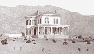 Altadena, California - Woodbury-Story House (1882), home of Capt. John Woodbury, is extant and occupied