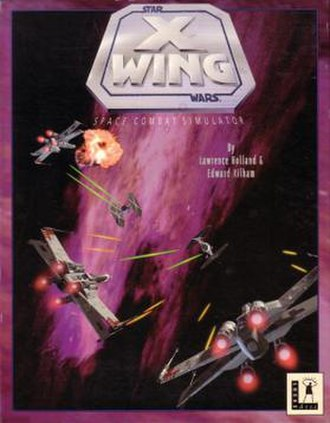 Star Wars: X-Wing (video game series) - The floppy disk release for X-Wing.