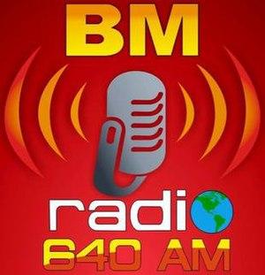 XEJUA-AM - Logo with BM Radio