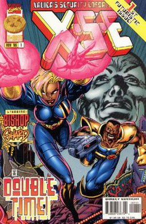 Xavier's Security Enforcers - Cover of the first issue of X.S.E.
