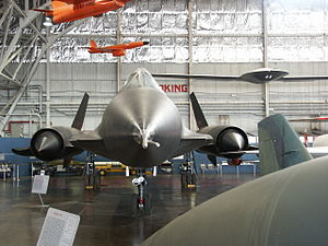 Lockheed YF-12 - YF-12A AF Ser. No. 60-6935 in the National Museum of the USAF