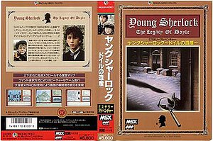Young Sherlock The Legacy of Doyle cover.jpg