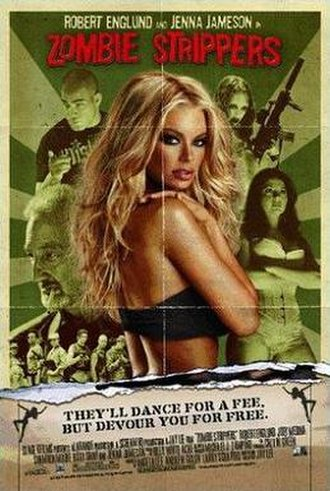 Zombie Strippers - Theatrical release poster