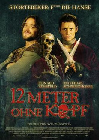 12 Paces Without a Head - German Theatrical Poster