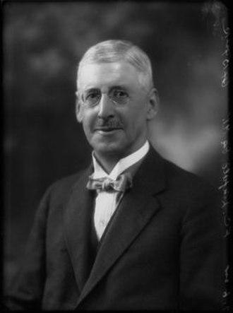 Frederick Linfield - Frederick Caesar Linfield