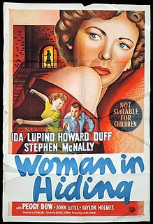 <i>Woman in Hiding</i> 1950 film by Michael Gordon