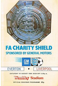 1984 FA Charity Shield match programme.jpg