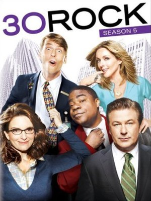30 Rock (season 5) - DVD cover
