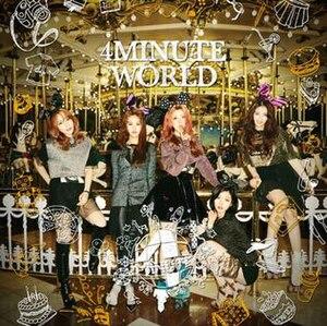 4Minute World - Image: 4Minute World EP