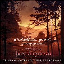 Christina Perri — A Thousand Years (studio acapella)