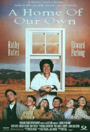A Home of Our Own - Theatrical release poster