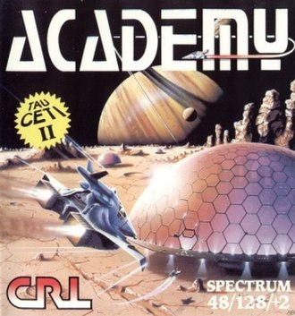 Academy (video game) - Image: Academy (video game) cover art