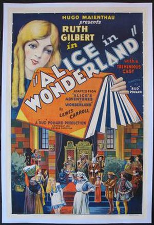 Alice in Wonderland (1931 film) - Image: Alice poster 1931