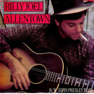 "Music of Pennsylvania - The song ""Allentown"" by Billy Joel, released in 1983, is based on Allentown, Pennsylvania's hardships."