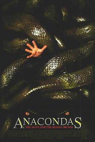 Anacondas: The Hunt for the Blood Orchid - Theatrical release poster