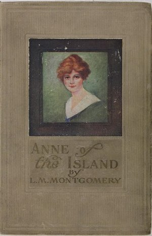 Anne of the Island - Early edition cover