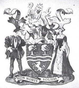 Municipal Borough of Beckenham - Coat of arms of Beckenham Borough Council