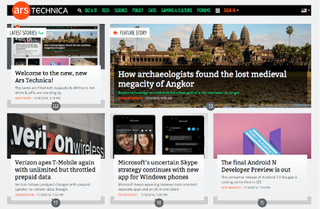 <i>Ars Technica</i> Technology news website, owned by Condé Nast