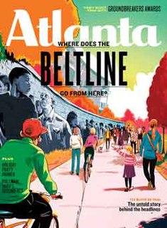 <i>Atlanta</i> (magazine) American monthly general-interest magazine