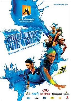 2010 Australian Open - Image: Australian Open 2010 poster